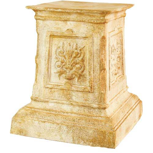 English 20-Inch Fiberglass Pedestal - Pompeii Finish