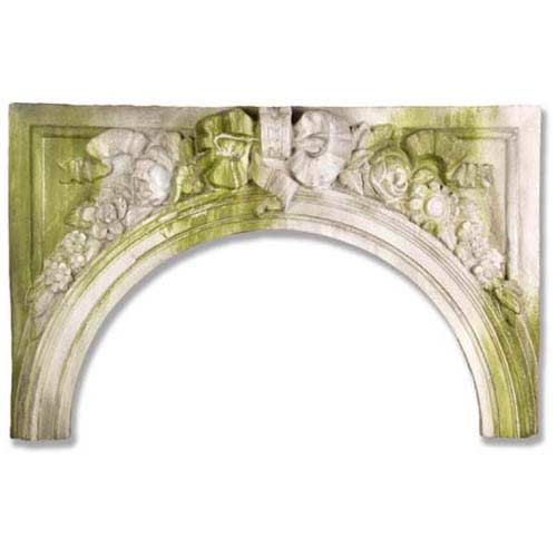 White Moss Victorian Exterior Arch