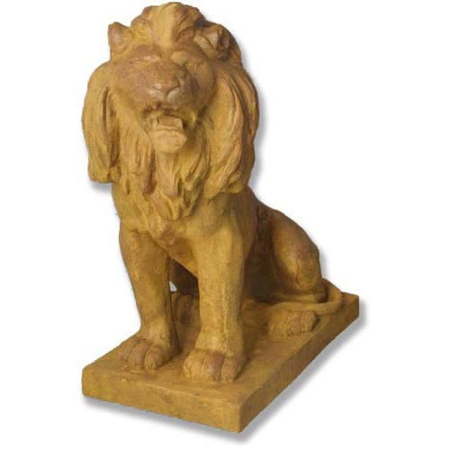Sandstone Lion Facing Left