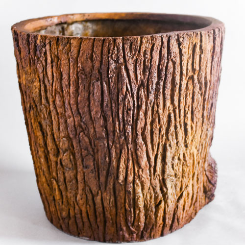 Oak Bark Planter Large