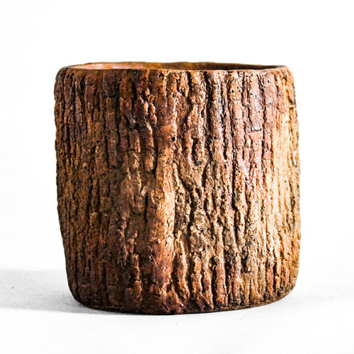 Orlandi Statuary Inc. Oak Bark Planter Small