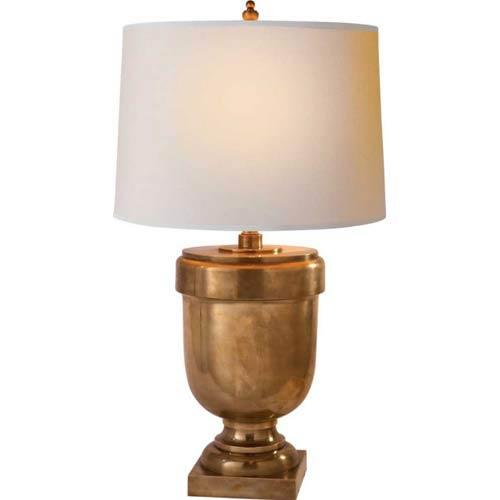 Large Chunky Urn Lamp