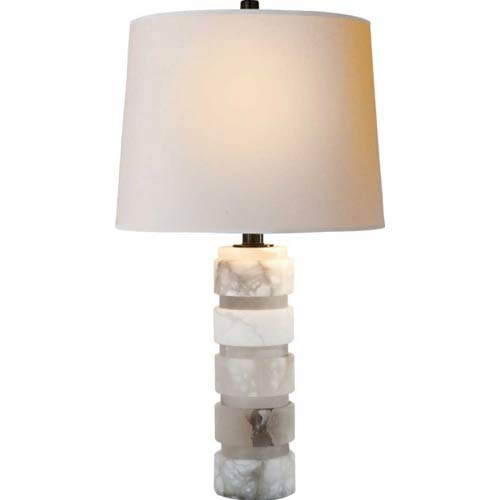 Round Chunky Stacked Lamp