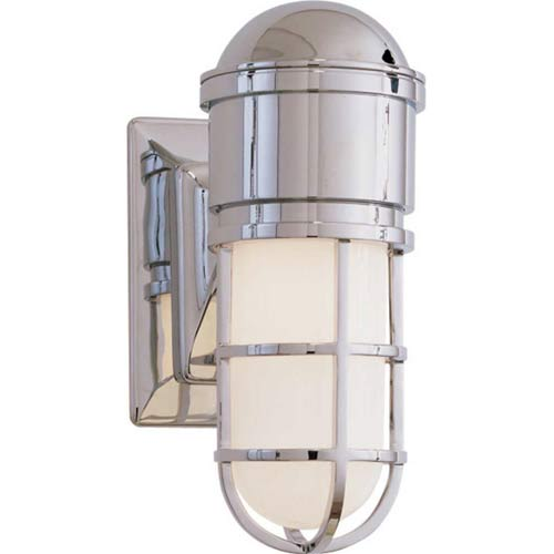 Chrome Marine Wall Light