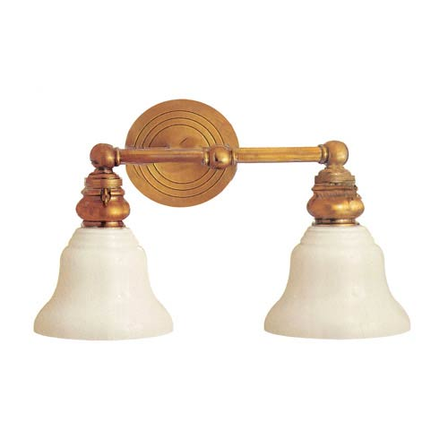 Studio Two-Light Bath Fixture