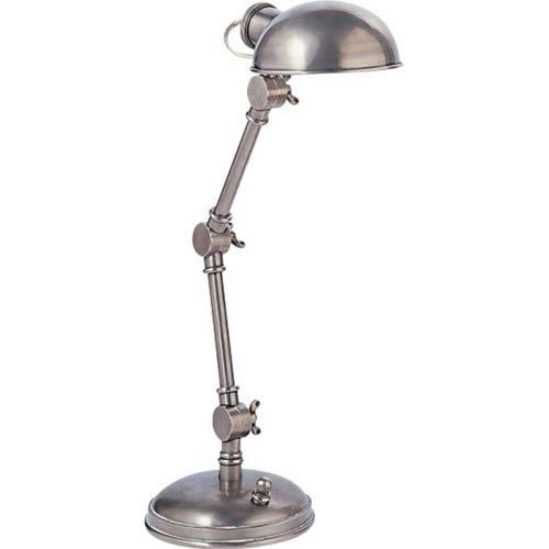 Antique Nickel Pixie Lamp
