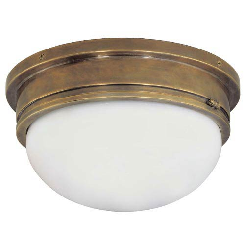 Visual Comfort And Company Antique Br Large Marine Flush Mount Ceiling Light