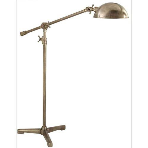 Antique Nickel Studio Pivoting Floor Lamp
