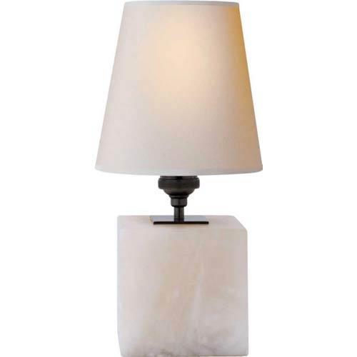 Alabaster Terri Cube Lamp