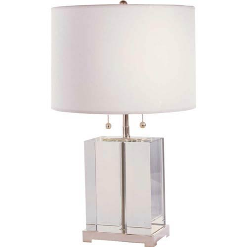 Crystal Small Crystal Block Table Lamp