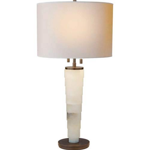 Alabaster Large Stanford Table Lamp