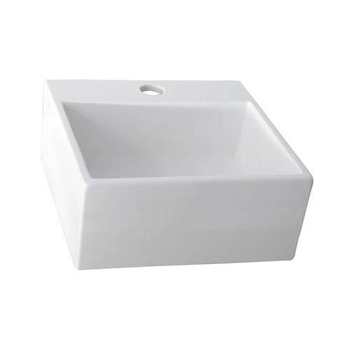 Mini Nova White Above Counter Sink