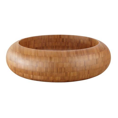 Malta Bamboo Round Vessel Sink