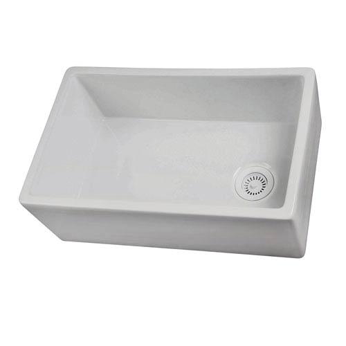 Barclay Products 30 Inch White Farmer Sink Fs30