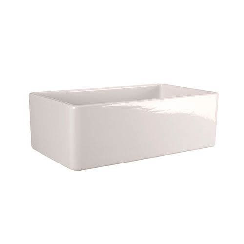 Crisfield Bisque 30-Inch Single Bowl Fireclay Farmer Sink