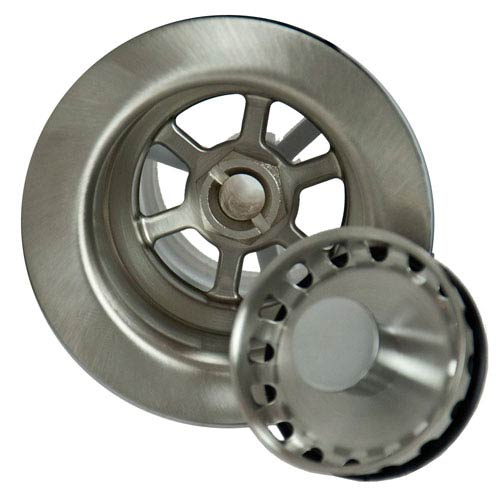 Barclay Products Brushed Stainless Bar Sink Strainer