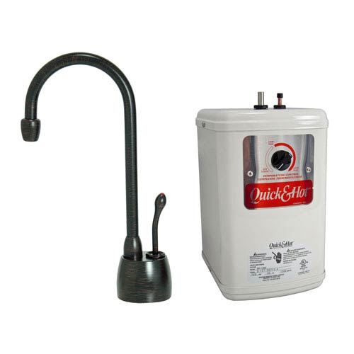 Venetian Bronze Hot Water Dispenser with Heating Tank