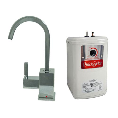 Chrome Hot Water Dispenser with Heating Tank