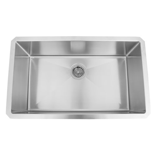 Donahue Stainless Steel 30-Inch Wide Rectangular Undermount Sink