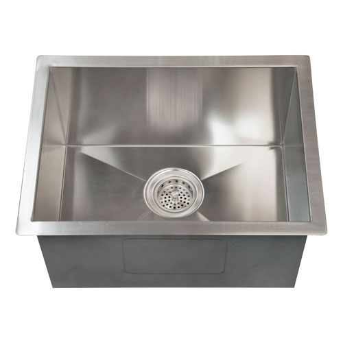 Sabrina Stainless Steel 15-Inch Undermount Prep Sink
