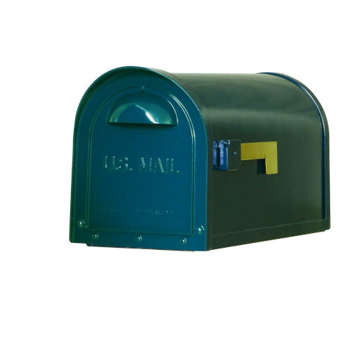 Dylan Blue Curbside Mailbox
