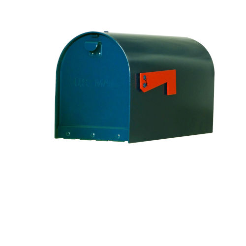 Rigby Blue Curbside Mailbox