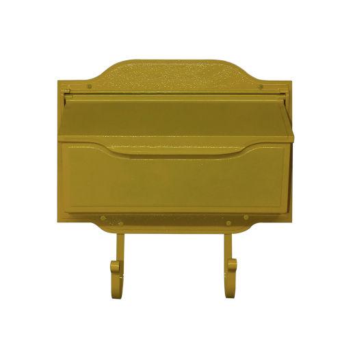 Asbury Yellow Horizontal Mailbox
