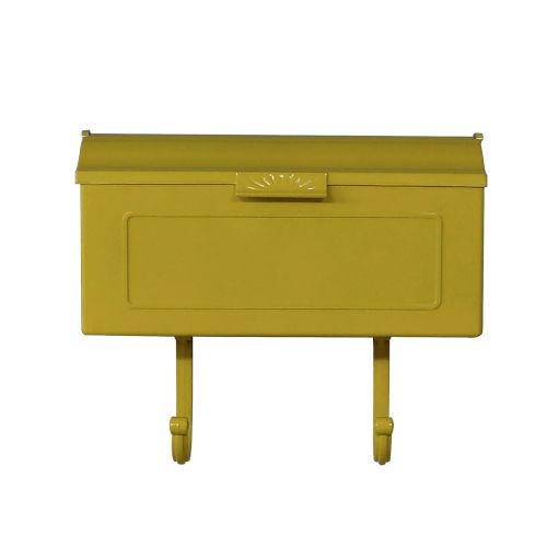 Nash Yellow Horizontal Mailbox