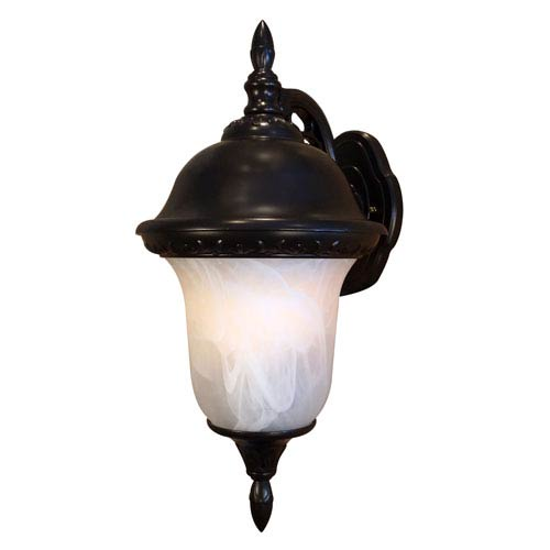 Special Lite Products Company Glenn Aire Large Top Mount Light with Alabaster Glass
