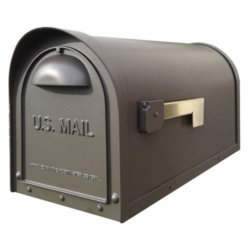Classic Mocha Curbside Mailbox