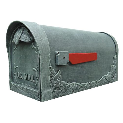 Floral Verde Curbside Mailbox