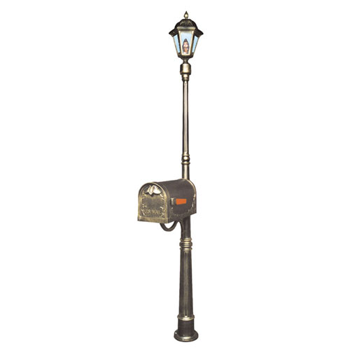 Ashland Mailbox / Post Light Combination Kit