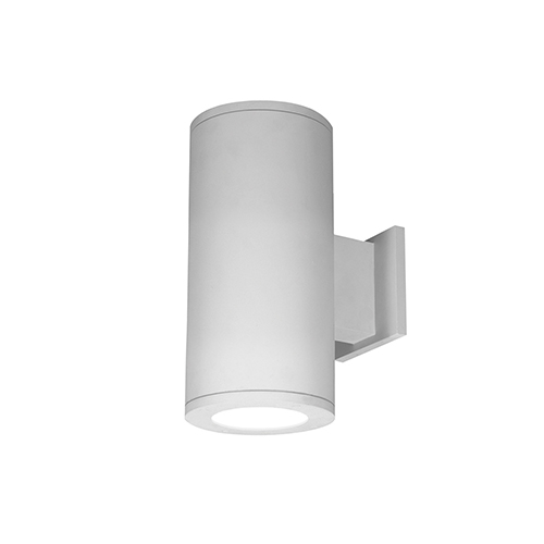 Tube Architectural White Two-Light 3000K LED 85 CRI Wall Light with 25  Degree Beam Spread