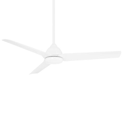 Mocha Matte White 54-Inch Ceiling Fan