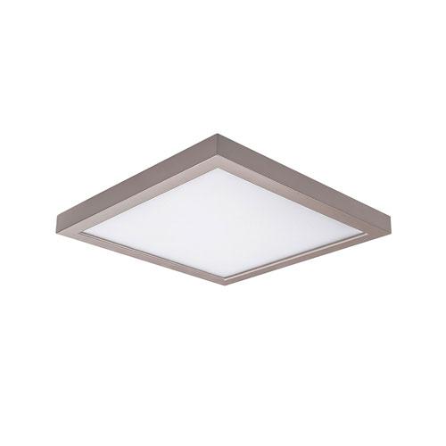 Nickel 5-Inch 3000K LED ADA Square Flush Mount