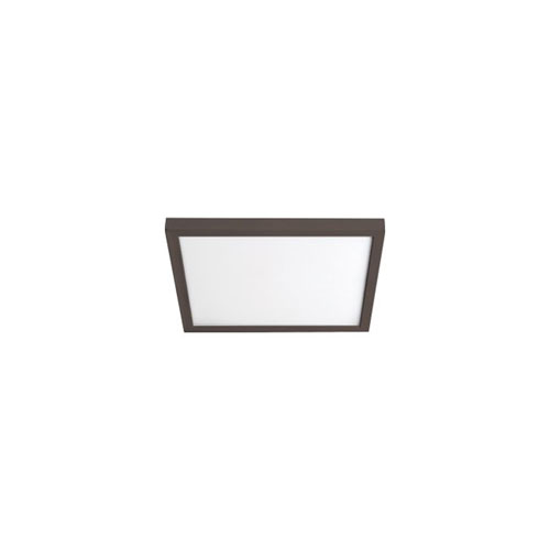 Bronze 7-Inch 3000K LED ADA Square Flush Mount