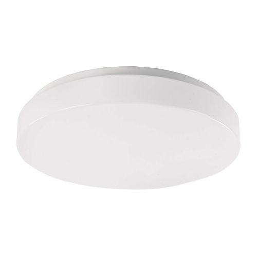 Blo White 15-Inch LED ADA Outdoor Flush Mount