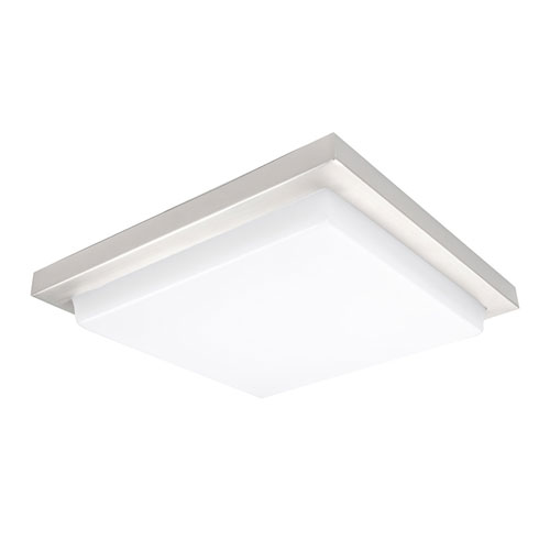 Metro Chrome 18-Inch 3500K LED ADA Flush Mount