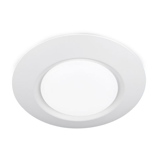 I Cant Believe Its Not Recessed White LED ADA Flush Mount for Universal Box
