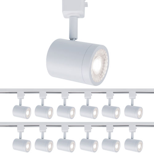 Charge White Two-Inch LED ADA Head Track Light, Pack of 12