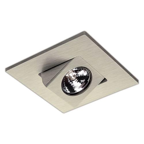 Brushed Nickel Adjustable Directional Trim