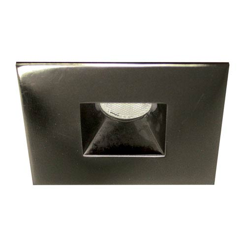 LEDme Gunmetal LED Square Mini Recessed Light with 3000K Soft White