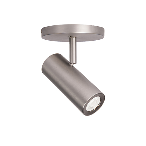 Silo Brushed Nickel 3000K LED 90 CRI Spot Light with 25 to 35 Degree Beam Spread