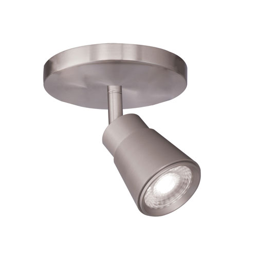 Solo Brushed Nickel LED ADA Monopoint Spot Light
