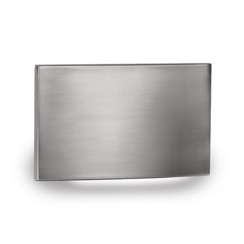 WAC Landscape Brushed Nickel LED ADA Landscape Lighting with Horizontal Scoop Step and Wall Light