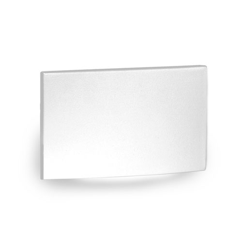WAC Landscape White 3000K LED ADA Landscape Lighting with Horizontal Scoop Step and Wall Light