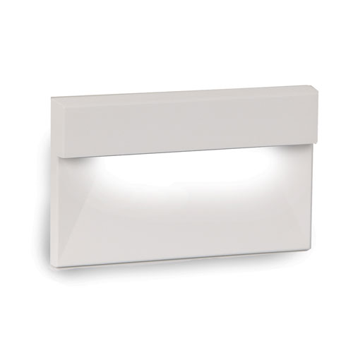 WAC Landscape White 3000K LED ADA Landscape Lighting with Horizontal ge Step and Wall Light