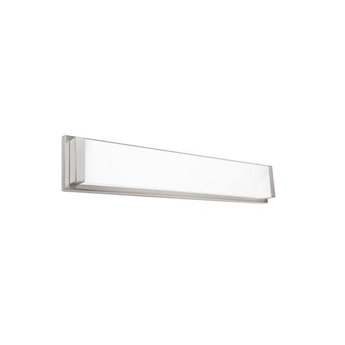 Metro Brushed Nickel 20-Inch 3000K LED ADA Bath Bar
