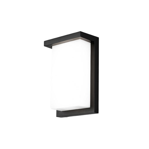 Vega Black 8W LED Wall Sconce