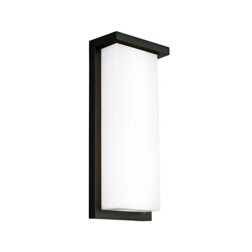 Vega Black 16W LED Wall Sconce